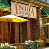 $10 for Fare at India on the Hudson in Hoboken