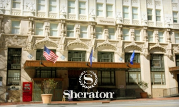 Sheraton Columbia Downtown Hotel - Downtown: $125 for a One-Night Stay, a Bottle of Champagne, Chocolate-Covered Strawberries, a Hot Breakfast, and More at the Sheraton Columbia Downtown Hotel (Up to $269.90 Value)