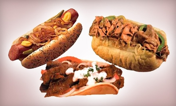 Pam's Chicago Style Dogs & More - Skinker DeBaliviere: $5 for $10 Worth of Hot Dogs, Sandwiches, and Thirst Quenchers at Pam's Chicago Style Dogs & More