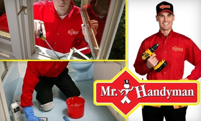 Mr. Handyman  - Minneapolis / St Paul: $59 for One Hour of Household or Commercial Service from Mr. Handyman of Southwest Minneapolis & the Southwest Suburbs ($138 Value)