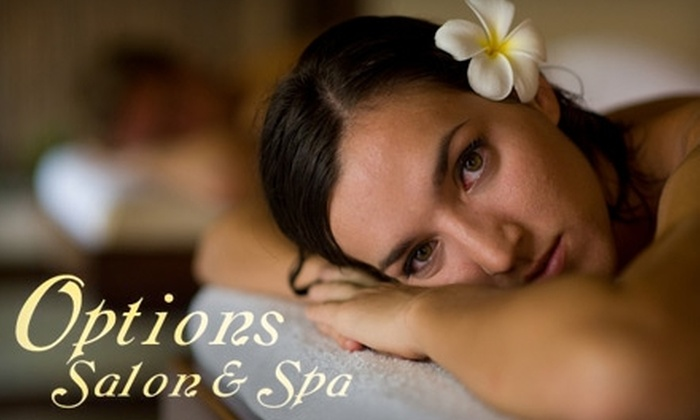 Options Salon & Spa - Williamsburg Heights:  $30 for $60 Worth of Services at Options Salon and Spa