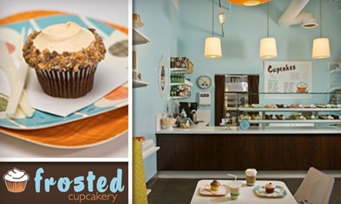 Frosted Cupcakery - Multiple Locations: $9 for Six Cupcakes at Frosted Cupcakery ($17.70 Value)