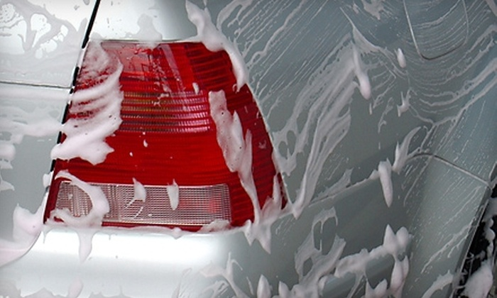 Lake Lansing Road Mobil - Lansing: $20 for Five Hands-Free Car Washes ($40 Value) at Lake Lansing Road Mobil
