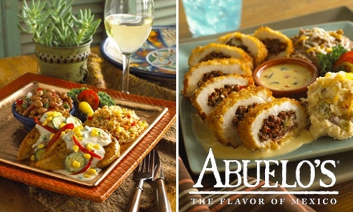 Abuelo's - Bartlett Corporate Park: $15 for $30 Worth of Mexican Cuisine at Abuelo's