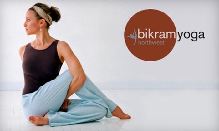 Bikram Yoga Northwest - Varsity: $30 for a One Month Unlimited Class Pass to Bikram Yoga Northwest ($147 Value)