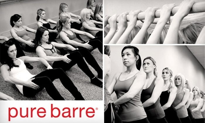 Pure Barre - Country Club: $20 for Two Body-Toning, Fat-Burning Workout Classes at Pure Barre ($46 Value)