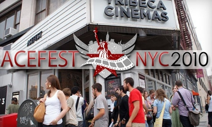 ACEFEST 2010 - Tribeca: $4 for a Movie Ticket to ACEFEST 2010 and Entry to After-Party at Luxe ($18 Value)