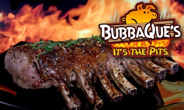 BubbaQue's - Country Club Estates: $5 for $10 Worth of Barbecue and More at BubbaQue's