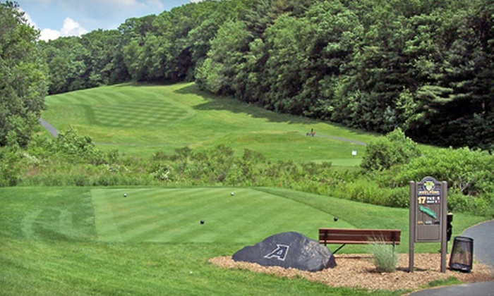 West Point Golf Course - West Point: 18-Hole Golf Outing for Two Including Cart and Range Balls on Weekday or Weekend at West Point Golf Course