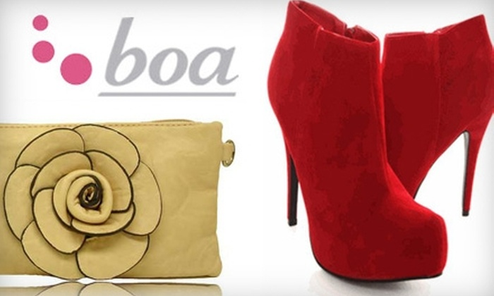 Boa - Multiple Locations: $20 for $50 Worth of Clothing and Accessories at Boa. Three Locations Available.