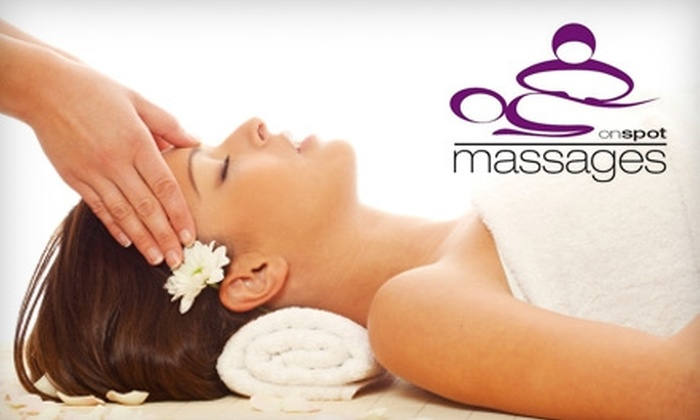 onspot massages - Eagle Rock: $34 for a One-Hour Massage at onspot massages ($69 Value)