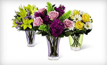 $50 Groupon to Flowers by Coley: 6602 Mission Gorge Rd. - Flowers by Coley in San Diego