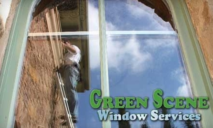 Green Scene Windows - South River City: $49 for Your Choice of One of Three Eco-Friendly House-Cleaning Services from Green Scene Windows ($99 Value)