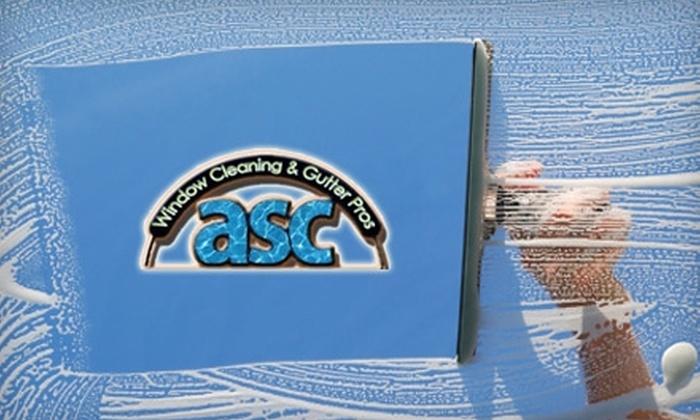 ASC Window & Gutter Cleaning - Santa Cruz / Monterey: $65 for Window or Gutter Cleaning from ASC Window & Gutter Cleaning