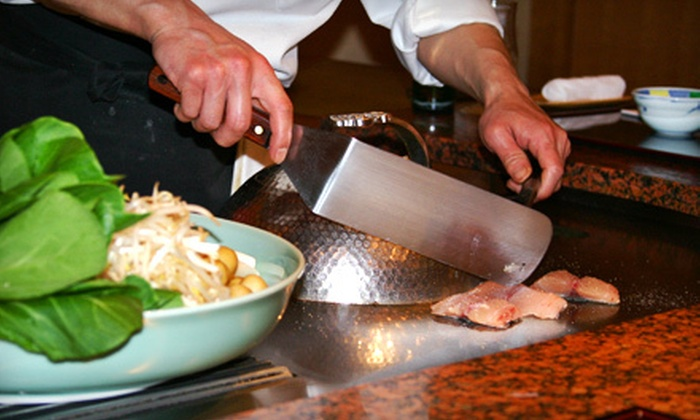 Tenichi Steak House - Goose Creek: Hibachi Dinner for Two or Four at Tenichi Steak House (Up to 52% Off)