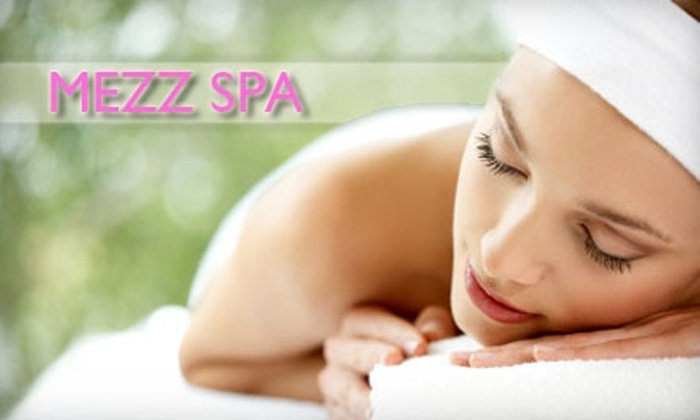 Mezz Spa - Alpharetta: $105 for Microdermabrasion, Hydrating Sea Salt Body Scrub, and Paraffin Treatment From Mezz Spa ($390 Value)