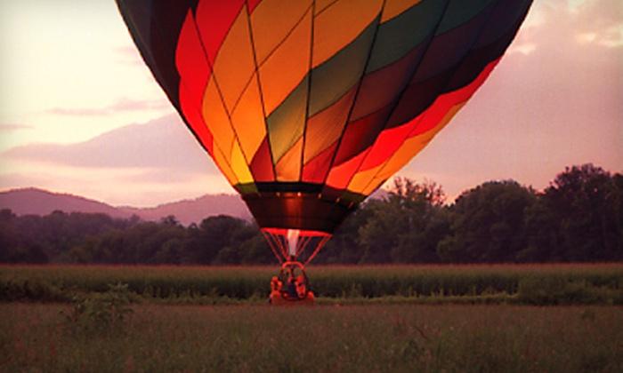 R.O. Franks Hot Air Balloon Company in Asheville, North Carolina ...