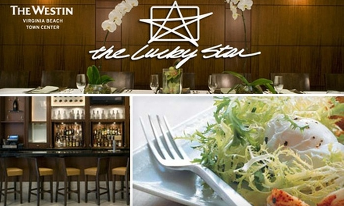 The Lucky Star at The Westin - Northwest Virginia Beach: $25 for $50 Worth of Upscale Seafood Fare and More at The Lucky Star at The Westin in Virginia Beach
