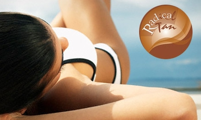 Radical Tan  - Multiple Locations: $20 for $50 of Tanning Services at Radical Tan