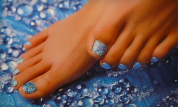At Your Fingertips - Central City: $35 for a Mani-Pedi from At Your Fingertips