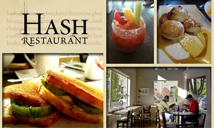Hash Restaurant - Sellwood - Moreland Improvement League: $12 for $25 Worth of Sustainable Breakfast Spuds and Lunch at Hash Restaurant