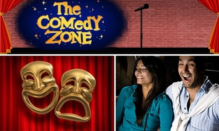 Comedy Zone and Madisons On The Corner - Fort Mill: $25 for Two Tickets to Any Comedy Zone Show and $30 Toward American Fare at Madisons On The Corner in Fort Mill