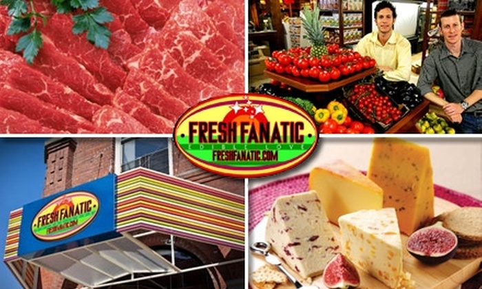 Fresh Fanatic - New York City: $15 for $35 Worth of Natural and Organic Groceries from Fresh Fanatic