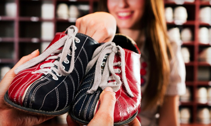Brown Deer Lanes - Brown Deer: Bowling Outing with Shoe Rental and a Pizza for Groups of Two or Four at Brown Deer Lanes