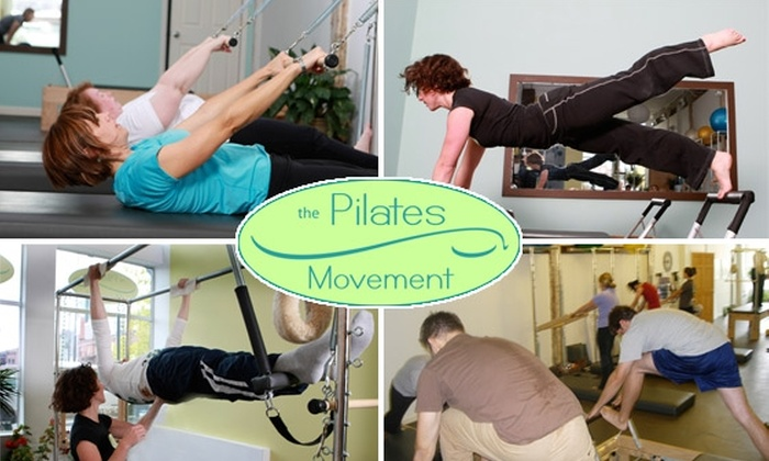 The Pilates Movement - Five Points: $45 for Any Five Group Classes at The Pilates Movement