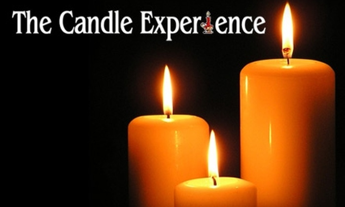 The Candle Experience - Grandville: $10 for $20 Worth of Candles and More at The Candle Experience