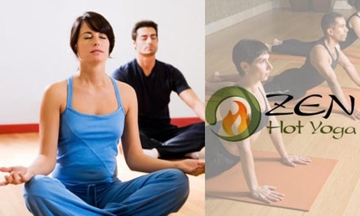 Zen Hot Yoga - Virginia Beach: $40 for 10 Yoga Classes at Zen Hot Yoga ($140 Value)
