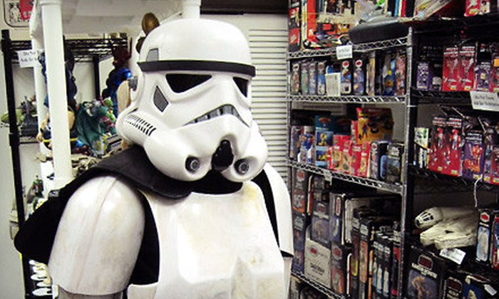 Dallas Vintage Toys - Hollywood Heights: $15 for $30 Worth of Toys and Collectibles at Dallas Vintage Toys