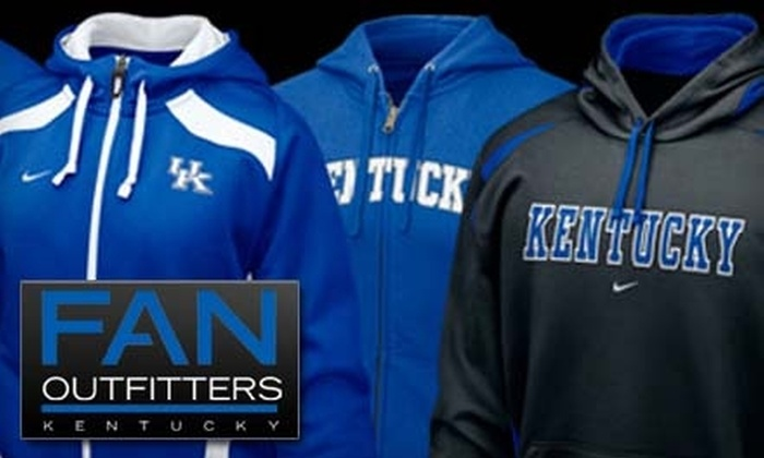 Fan Outfitters - East Louisville: $10 for $20 Worth of Merchandise at Fan Outfitters