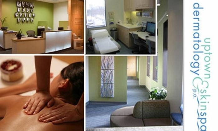 Uptown Dermatology and SkinSpa - Uptown: $25 Massage at Uptown Dermatology ($65 Value)