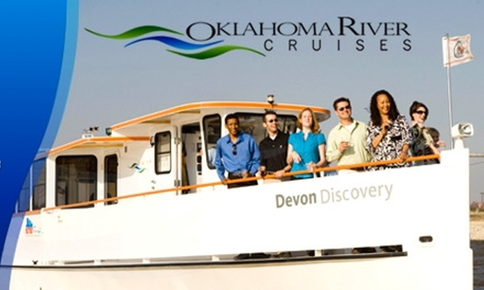 Oklahoma River Cruises - Central Oklahoma City: $29 for Two Tickets to a Sunset Cruise from Oklahoma River Cruises ($58 Value)