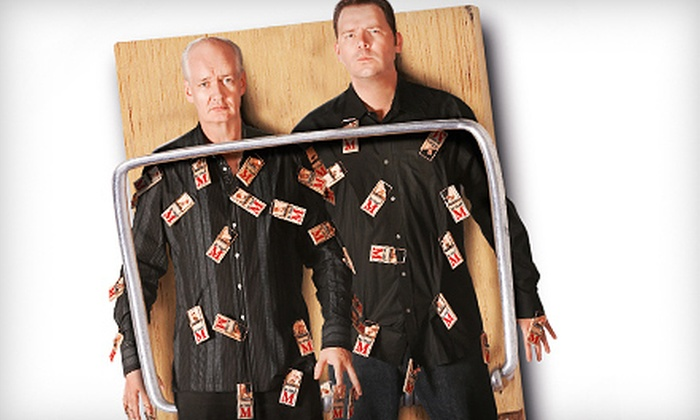 Colin Mochrie & Brad Sherwood: Two Man Group - Belvidere: $25 for One Ticket to See Colin Mochrie & Brad Sherwood: Two Man Group in Lowell on April 13 (Up to $49.50 Value)