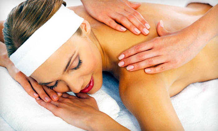Elysis - Waterloo: $65 for a Massage and Two Ion Foot Cleanses at Elysis ($130 Value)