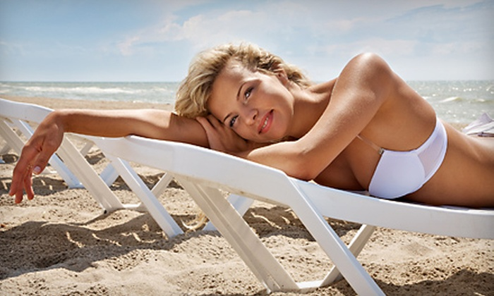 Raving Tans - Old Town Temecula: One or Three Spray Tans from Raving Tans in Temecula (Up to 63% Off)