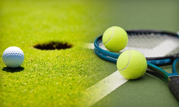 Play Golf and Tennis - Multiple Locations: One Golf Lesson or Two Tennis Lessons at Play Golf and Tennis