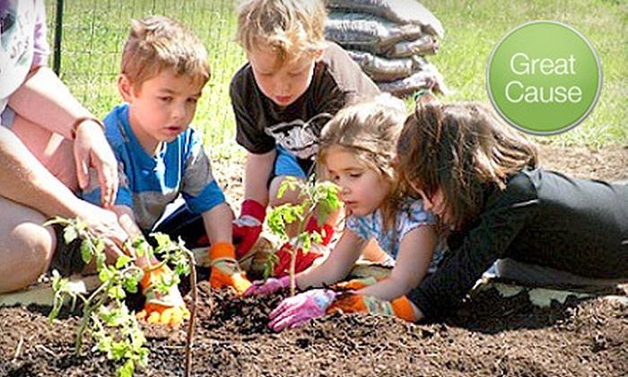 Douglas County Child Development Association - HiIlcrest: If 40 People Donate $10, Then the Douglas County Child Development Association Can Provide Four Kids' Garden-Starter Kits