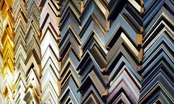 Frame Outlet - Picadome: $50 for $100 Worth of Framing and Free Regular Glass at Frame Outlet