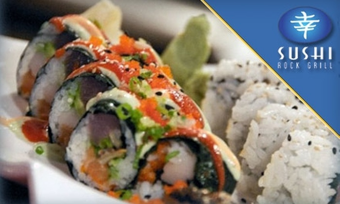 Sushi Rock Grill - Uptown: $17 for $35 Worth of Sushi and More at Sushi Rock Grill in St. Petersburg