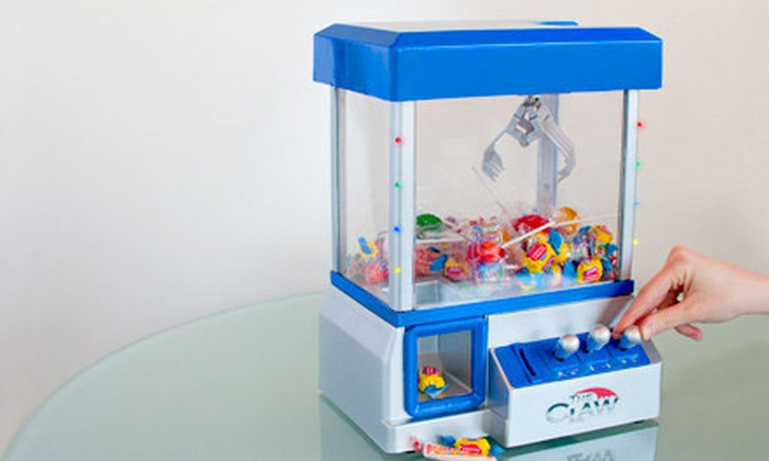 $19 for The Claw Candy and Toy Machine with LED Lights and Music ($45 59  Value)