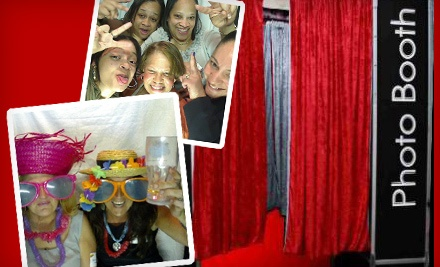 4-Hour Photo Booth Rental (a $1,400 value)  - Party Animalz in