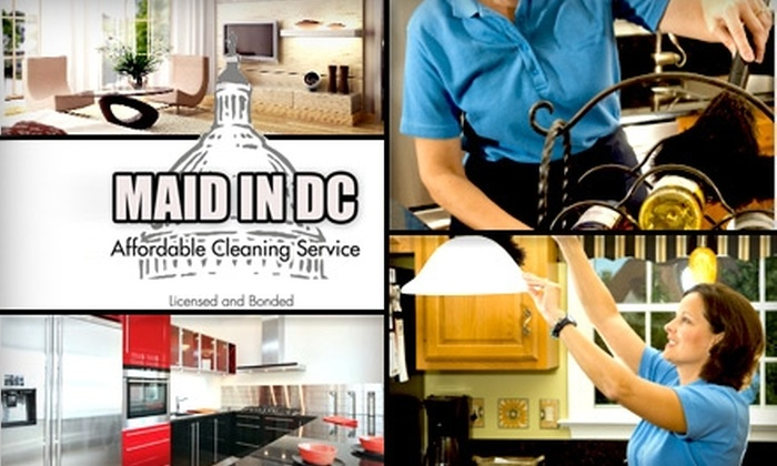 Maid in DC  - Washington DC: $58 for a Home Cleaning from Maid in DC (Up to $150 Value)