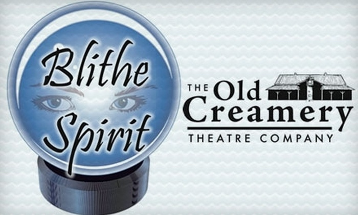 """$13 for a Ticket to """"Blithe Spirit"""" at Old Creamery Theatre. Choose from 18 Performances."""