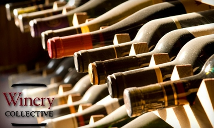 Winery Collective - Fisherman's Wharf: $60 for a Wine Tasting for Two, Plus Two Bottles of Wine (Up to $134 Value) at Winery Collective