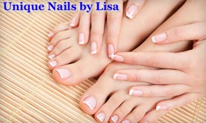 Unique Nails by Lisa - West Hartford: $25 for a Manicure and Pedicure at Unique Nails by Lisa ($65 Value)