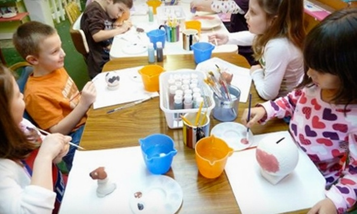 Color Me Pottery - Fayetteville: $20 for $40 Worth of Paint-Your-Own Ceramics at Color Me Pottery in Fayetteville