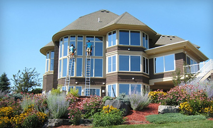 Russel Williams Window Cleaning - Blaine: $45 for Exterior Window Washing from Russel Williams Window Cleaning ($90 Value)